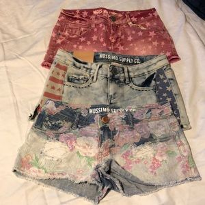 Mossimo shorts size 1 (sz 24) all NWT or like new